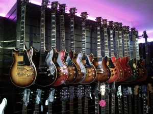Yamaha SG's at Berwick Music Gallery