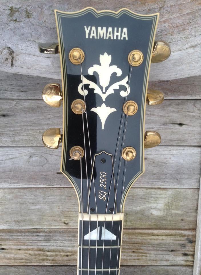 Yamaha Sg 2500 Elite Vintage Guitars